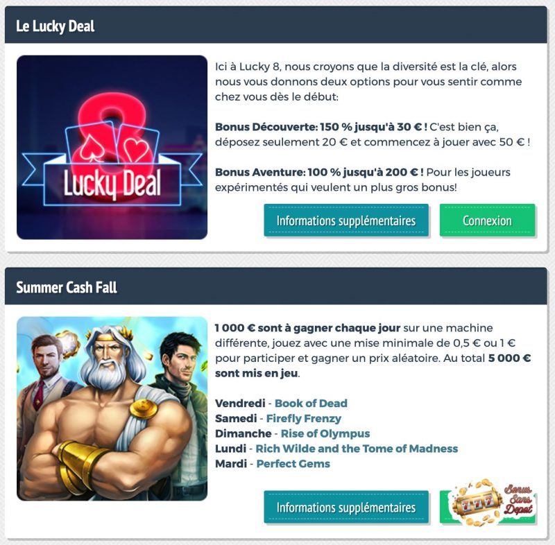 lucky8 promotion
