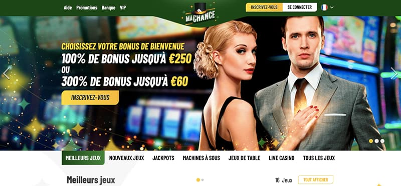 ma chance casino page d'accueil